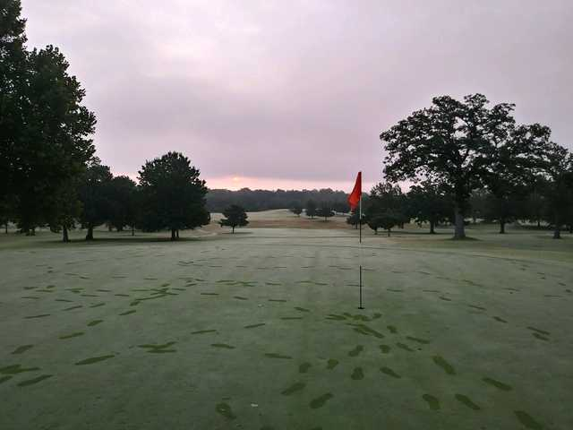 A view of a hole at Buffalo Rock Golf & Venue.