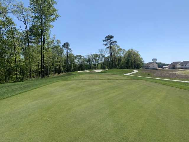 View from a tee box at Plantation Lakes Golf and Country Club.