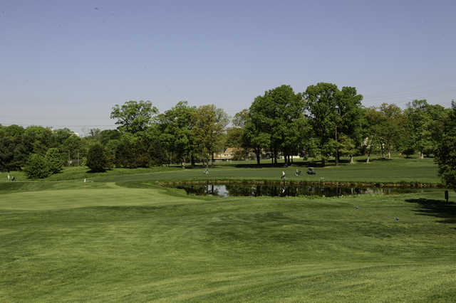 A view from Jefferson District Golf Course.
