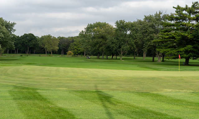 A view of a hole at Calumet Country Club.