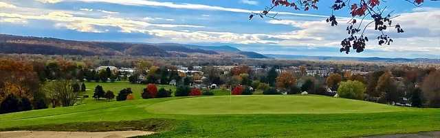 A view from Susquehanna Valley Country Club.