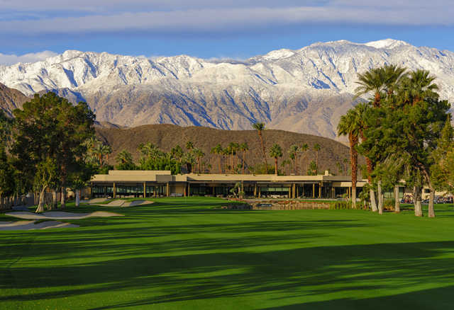 A view from Tamarisk Country Club.
