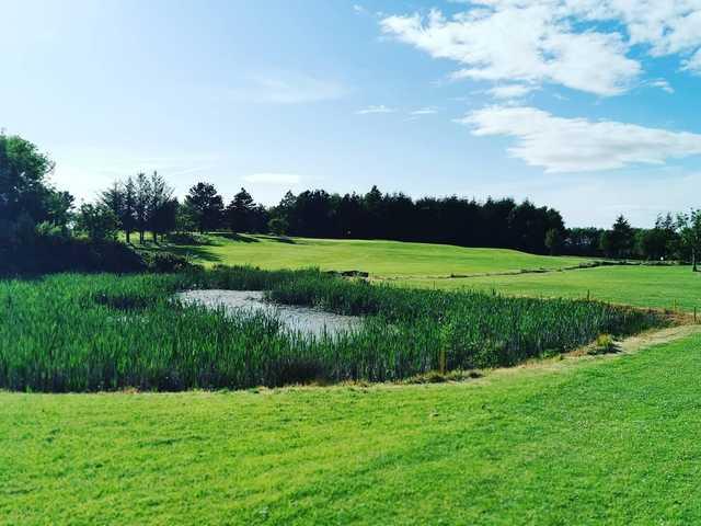 View from a tee box at Kilrush Golf Club.
