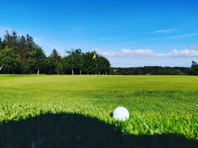 View from a green at Kilrush Golf Club.