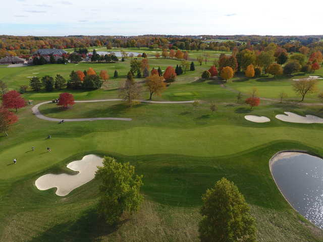 View of the 5th green from the South course at Walnut Creek Country Club.