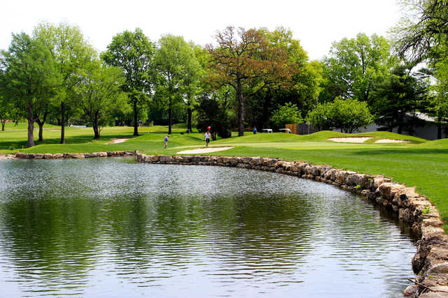 View of the 2nd green at Westborough Country Club.