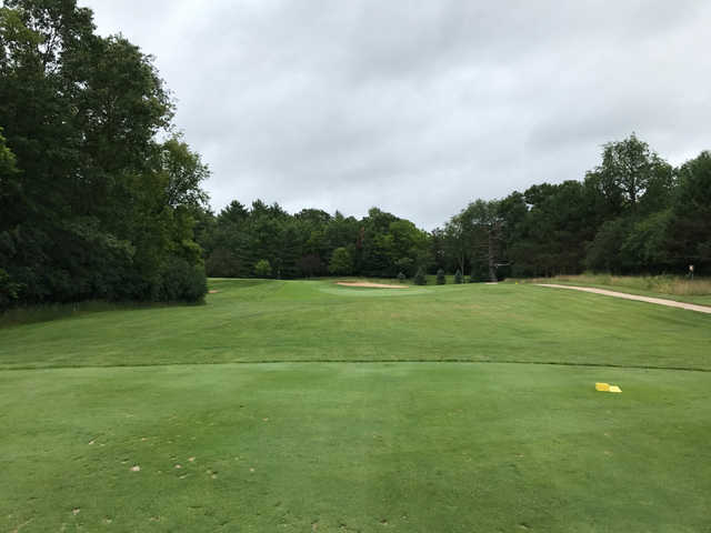 A view from tee #3 at Glacier Wood Golf Club.