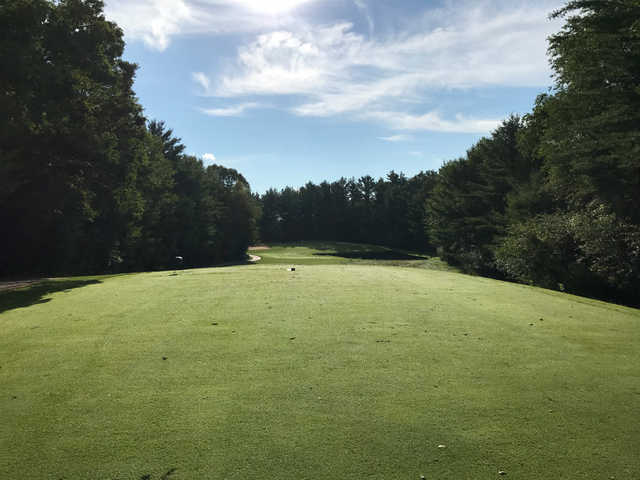 A view from the 6th tee at Glacier Wood Golf Club.
