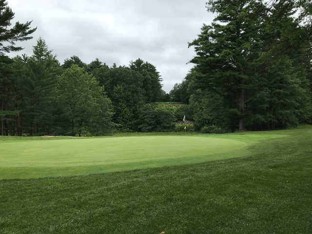 A view of the 12th green at Glacier Wood Golf Club.