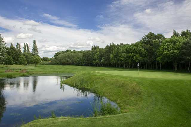 View of a green from the Championship Course at The Branston Golf & Country Club.