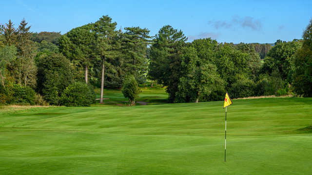 View from a green at Cardross Golf Club.