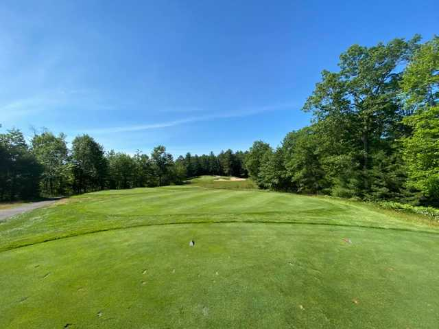 A view from a tee at Minocqua Country Club.