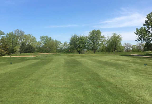 A view from fairway #17 at Maple Meadows Golf Course.