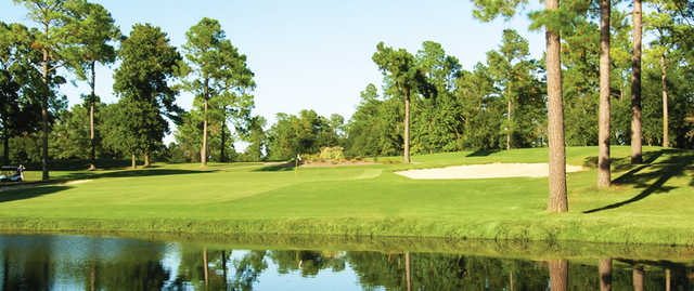 A view of hole #1 at Lake Marion Golf Course.