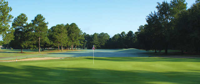 A view of the 10th hole at Lake Marion Golf Course.