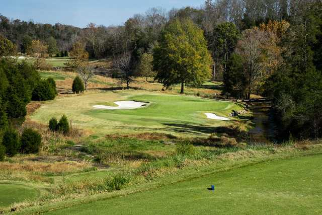 A view from tee #14 from The Golf Club of Tennessee.