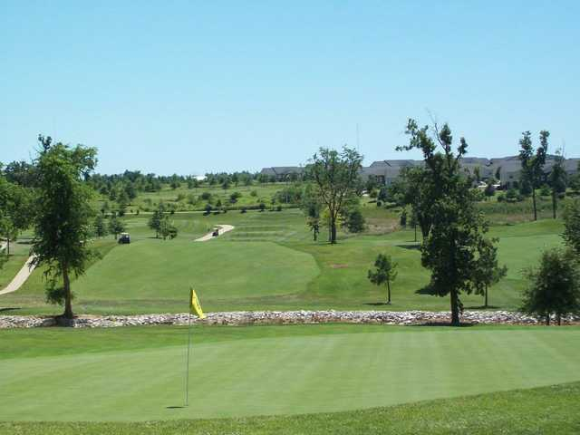A view of a hole at Springfield Golf & Country Club.