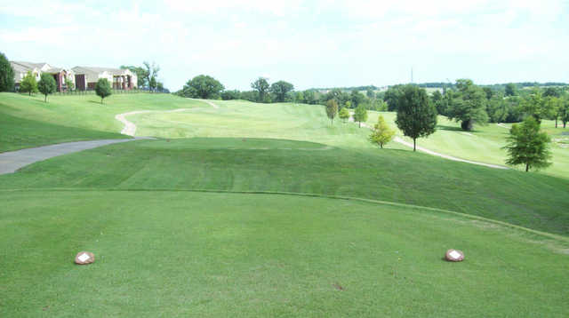 A view from a tee at Grand Summit Golf & Country Club.
