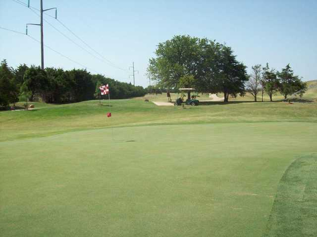 A view of a hole at Links at Norman Golf & Country Club.