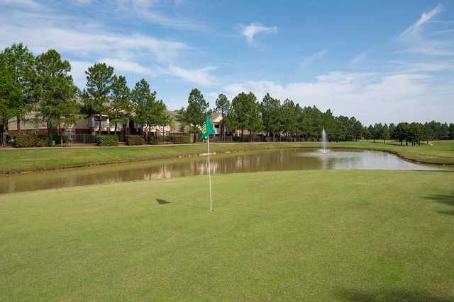 A view of a hole from The Links at Texarkana Golf & Athletic Club.
