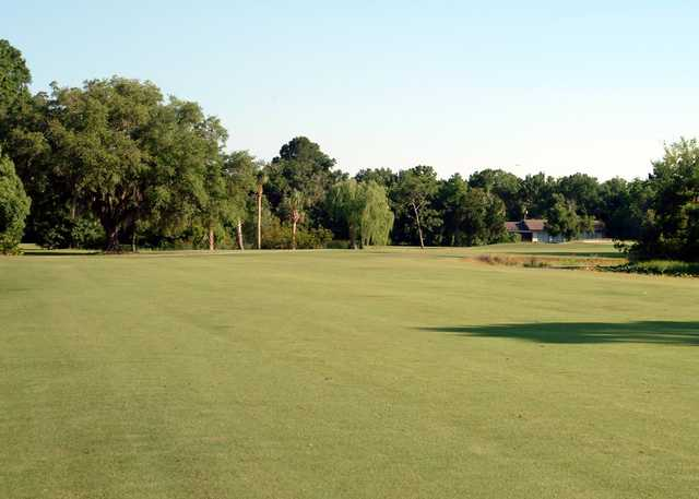 A view from fairway #13 at Championship Course from Plantation on Crystal River.