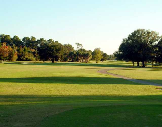 A view from tee #10 at Championship Course from Plantation on Crystal River.