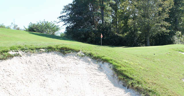 A view of a hole at Steel Canyon Golf Club.