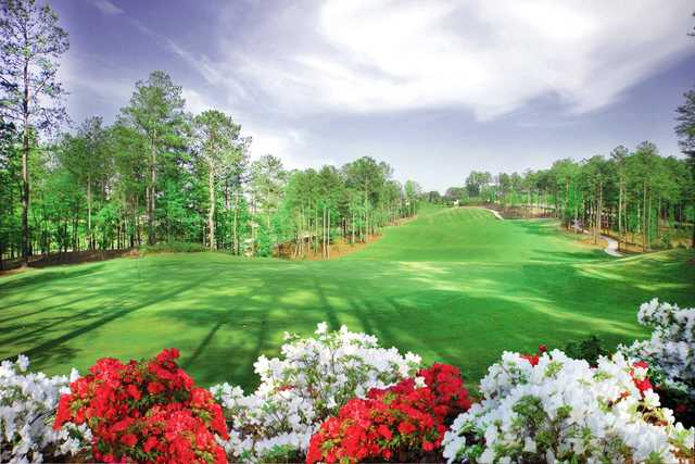 A view of a hole at Governors Towne Club.