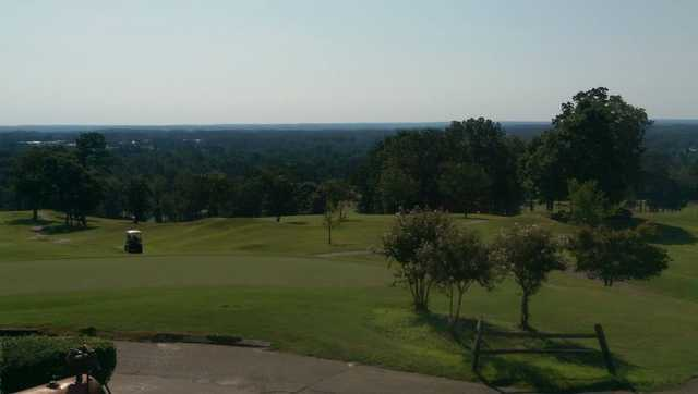 A sunny day view from Country Land Golf Course.