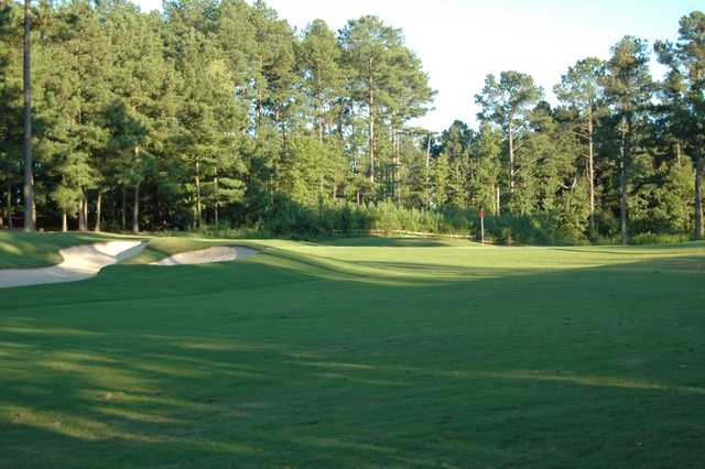 A view of hole #2 at Lane Creek Golf Club.