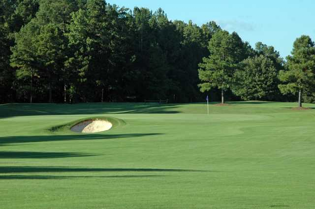 A view of the 12th hole at Lane Creek Golf Club.