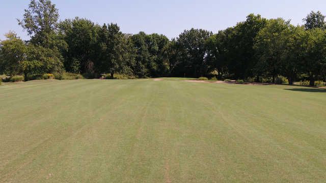A view from a fairway at Carlyle Lake Golf Club.