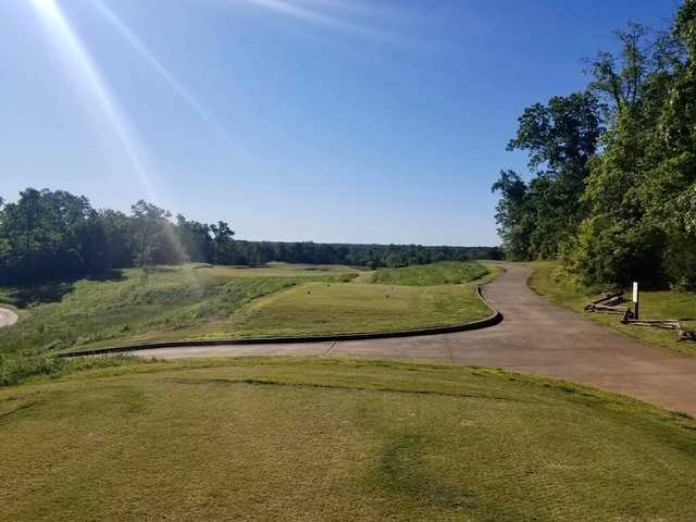 A view of a tee at Cateechee.