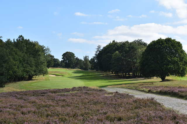 View from the 15th tee at Addington Golf Club.