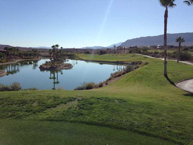A view from a tee at Bear's Best Las Vegas.