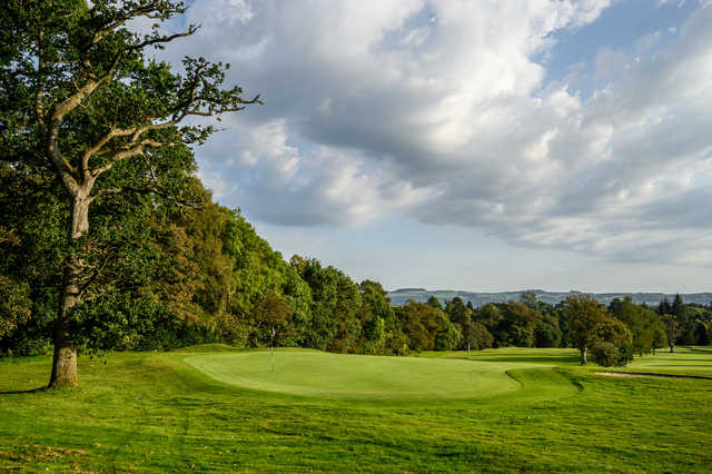 View of a green at Cardross Golf Club.