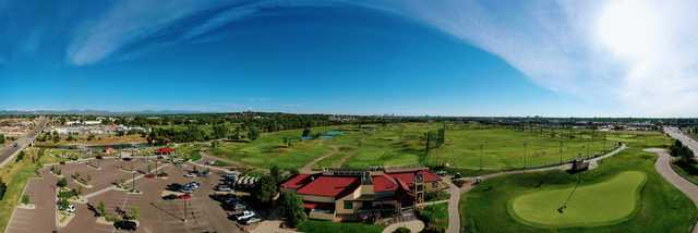 Panoramic view from Broken Tee Englewood Golf Course.