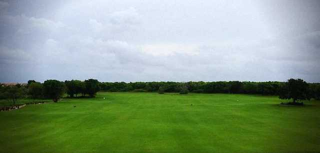 A view from Hard Rock Golf Club at Cana Bay.