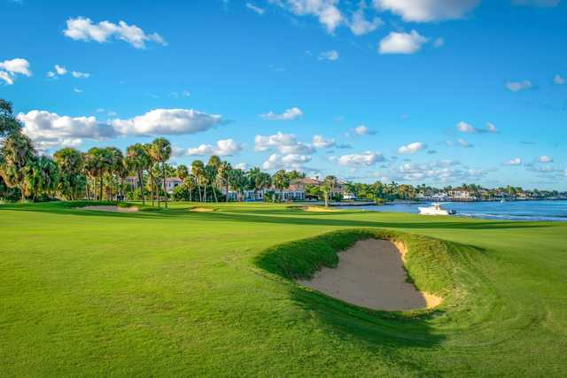 A sunny day view from North Palm Beach Country Club.