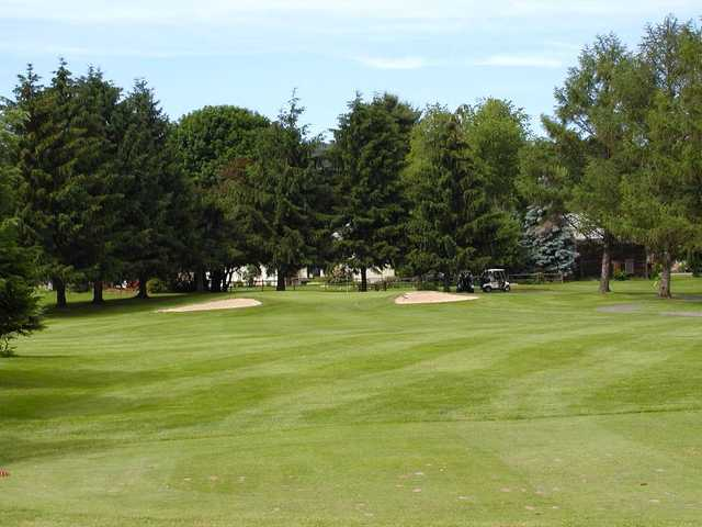 View of the 12th hole at Tioga Golf Club.