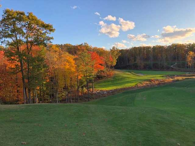 A view from the Woodhaven Course at Glade Springs Village.