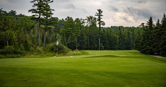 A view of a hole from Mill Run Golf Club.