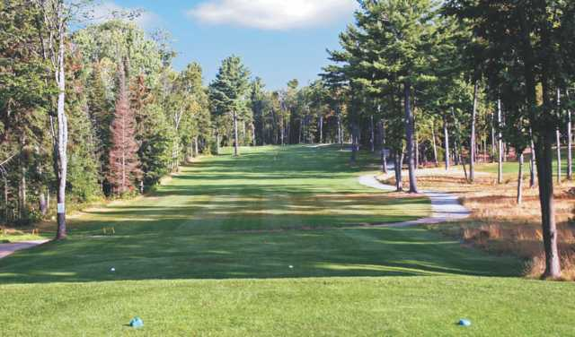 A view from tee #13 at North Granite Ridge Golf Club.