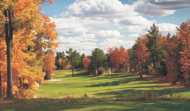 A view of the 18th fairway at North Granite Ridge Golf Club.