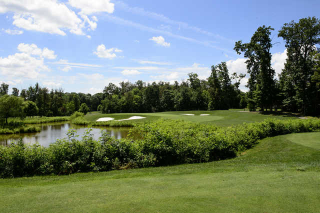 Panoramic view from the Oaks Course at Twin Lakes.