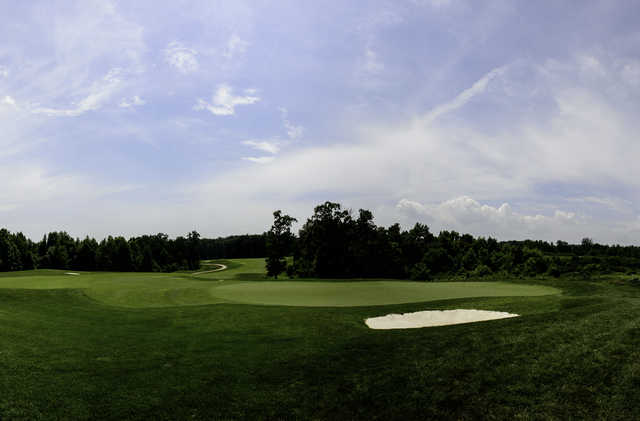 Panoramic view from Laurel Hill Golf Club.