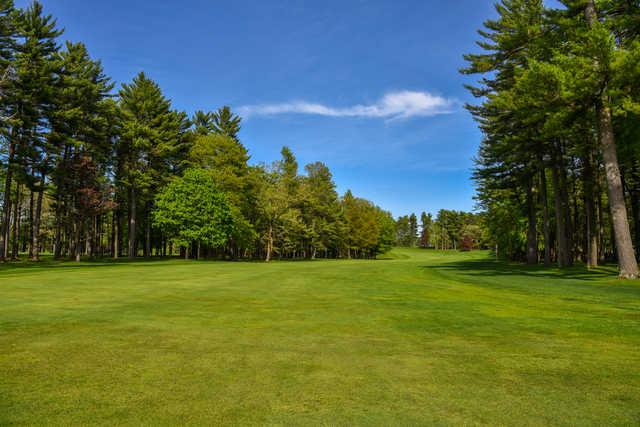View of the 11th fairway at Bullseye Golf Club.