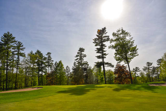 View of the 11th green at Bullseye Golf Club.