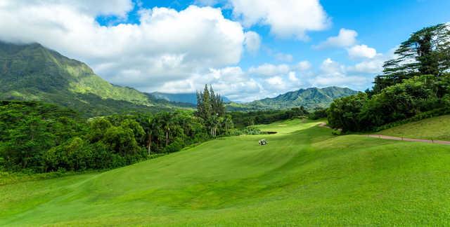 A view from Royal Hawaiian Golf Club.