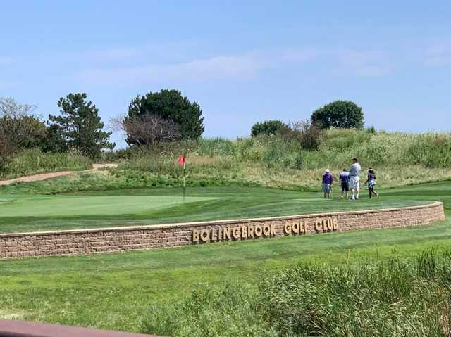 A view of the 8th hole at Bolingbrook Golf Club.